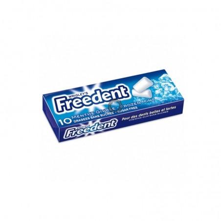 Freedent White Box Bottle Menthe Forte