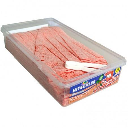 Sucette plate au Caramel pierrot gourmand, sucette fer de lance au caramel