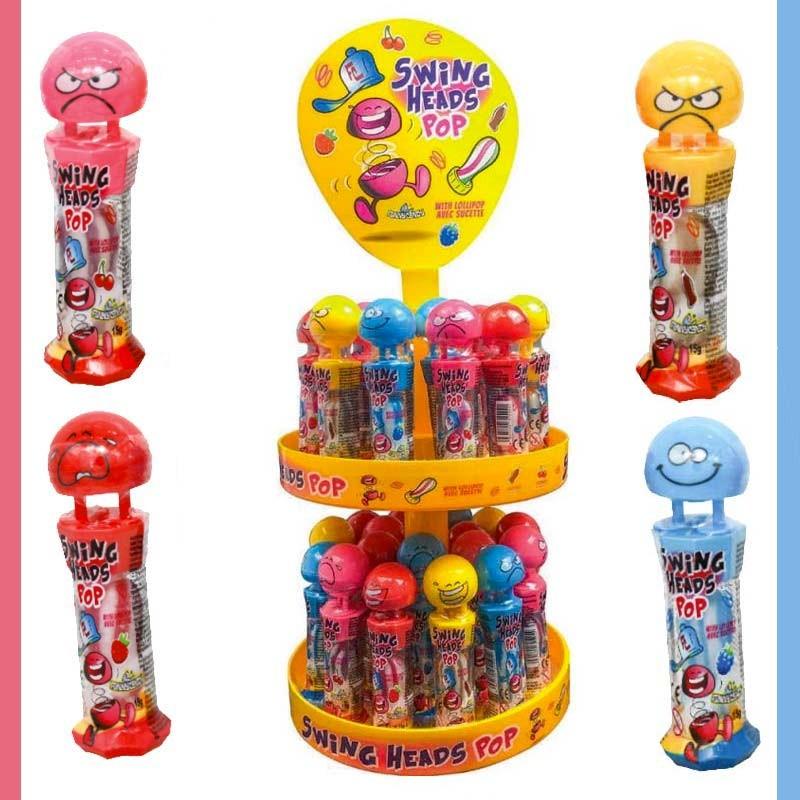 Ursula et son encre, bonbon en forme de poupel, bobnon pieuvre