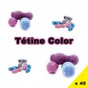 Frizzy Pazzy cola ou fraise, chewing-gum claquant