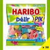 Hitschies orange, bonbon orange à mâcher