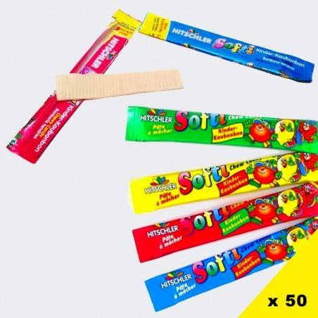 L' Île au Trésor Haribo, bonbons Haribo par thème