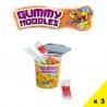 Roll'Up Fraise, rouleau bubble gum